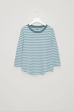 COS | 3/4 -sleeve striped T-shirt