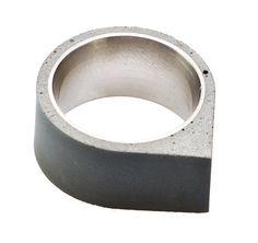 22designstudio Concrete Ring - Corner | the OBJECT ROOM