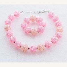 Most of the parents want their baby to look different and elegant on all the occasions.  Give a look at this Chunky Girl Necklaces, Your princess will love this bright necklace.