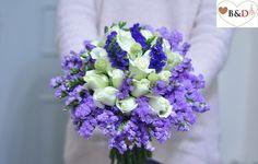 Fresh Flower Bouquet - Purple Dream ( Freesia Version )