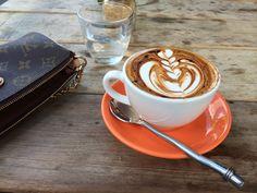 Coffee @ Scarvelli cafe.