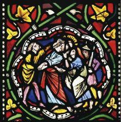 important vitrail gothiqu Strasbourg, Gothic, Italian Renaissance, Objet D'art, Stained Glass Windows, Impressionist, Les Oeuvres, Modern Art, Sculptures