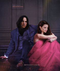 Snape And Hermione, Severus Snape, Hermione Granger, Alan Rickman, If I Stay, Emma Watson, Ball Gowns, Wattpad, Culture