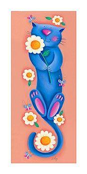 Pretty cat illustration...