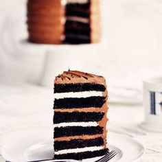 6 Layer chocolate mocha cake