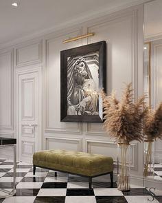 New living room luxury apartment chic 24 ideas Interior Design Inspiration, Home Interior Design, Design Ideas, Design Trends, Luxury Apartments, Luxury Homes, New Living Room, Living Room Decor, Hall Furniture