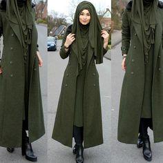 Mal ganz in GRÜN ☺️ Hijab / Kopftuch / Basörtü - Jersey Schal Jacket / Jacke / Ceket - Marke : Pierre Cardin aus dem Laden: Eser Shoes / Schuhe / Ayakkabilar - nicht aktuell aber sehr ähnliche findet ihr bei H&M im Online Shop