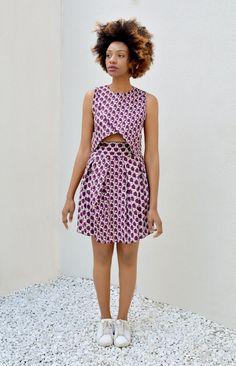 French label LADYHOOD ~African fashion, Ankara, kitenge, African women dresses, African prints, Braids, Nigerian wedding, Ghanaian fashion, African wedding ~DKK