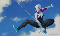 Spider-Gwen by John Grello