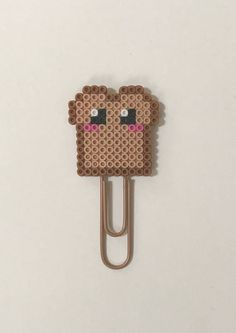 This Toast Planner clip or magnet is a fun and happy way to start your day. I mean who doesnt love breakfast?! Check out Happy Hearts Paper Co. on Facebook, Instagram, and Etsy for more fun planner ideas and Perler bead planner accessories and bookmarks. Office decor, desk decor, etsy seller, gift ideas, planner addict, stationery lover