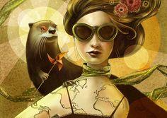 "Christina Hess, Texas - ""Illustration • Mother Earth""  http://www.christinahess.com/"