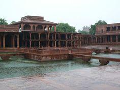 Fotos del Anup Talao en Fatehpur Sikri - India