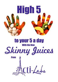 Skinny juice £7 for a 7 day supply full of vitamins and minerals fills you up for longer
