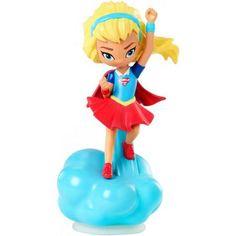 DC Super Hero Girls Supergirl Mini Vinyls, Multicolor
