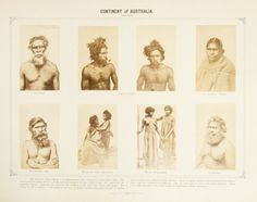 Photographic gallery various races of man