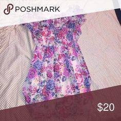 Floral Mini Dress Adorable Dress, perfect for Day & Night ❤️ LOVE! Dresses Mini