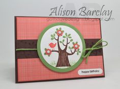 Gothdove Designs - Alison Barclay - Stampin' Up! Australia - Nuts About You Stamp Set and Stacked with Love DSP. #colorcoach #stampinup #stampinupaustralia