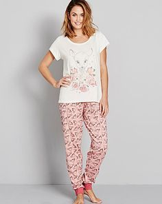 Bambi Pyjama Set | Simply Be