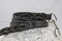 Black Latigo Leash — Collar Addict