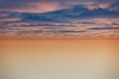 clouds photographed from las flores canyon in Malibu, 2012 - Keegan Gibbs