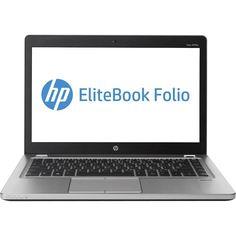 "HP - EliteBook Folio 14"" Refurbished Laptop - Intel Core i5 - 8GB Memory - 120GB Solid State Drive - Silver, 9470M-30167"