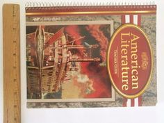 A Beka American Literature Classics for Christians 2003 Teacher Guide =Free Ship #Textbook