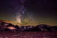 Milkyway and a meteor in Rocky Mountain National Park, Colorado [4957x3305][OC]