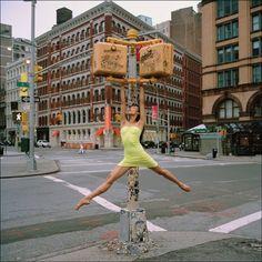 Downtown ballerina @Sidney Prideaux