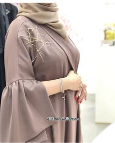Get this stunning abaya now at just Rs 3000 Modest Fashion Hijab, Modern Hijab Fashion, Hijab Fashion Inspiration, Abaya Fashion, Fashion Outfits, Iranian Women Fashion, Islamic Fashion, Moslem Fashion, Mode Abaya