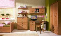 Kolekce nabízí i sestavu do dětského pokoje pod názvem Dětský pokoj Rachel 1 http://www.mabyt.cz/33754-detsky-pokoj-rachel-1.htm