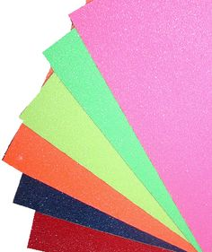 Skateboard Grip Tape in all colors of the rainbow - skateboard art project