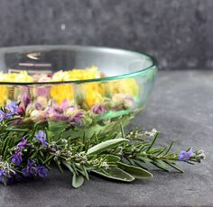DIY Luxurious Facials at Home - A colorful facial steam with Roses, Calendula, Rosemary and Sage