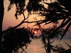 Sunset in Aegina  #travel #places #trips #world #aegina #island #greece #sunset #summer #sea