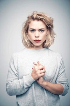 Billie Piper by Matt Holyoak (Glamour UK)