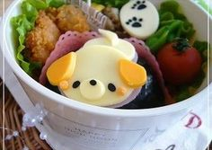Tail-Wagging Puppy Bento Recipe -  I think Tail-Wagging Puppy Bento is a good dish to try in your home.