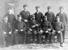 Item - Officers of the SS Abyssinia, picture taken in San Francisco. Latitude Longitude, Record Collection, Ss, San Francisco, Archive, History, Pictures, Photos, Historia