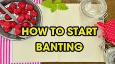 How To Start Banting In 5 Easy Steps