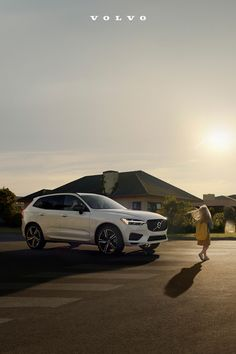 The Volvo XC60 with standard Pedestrian Detection helps keep an eye out for you. Volvo Xc60, Pedestrian, Savannah Chat, Eye, Building, Buildings, Architectural Engineering