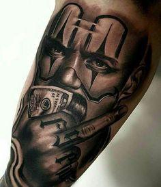 #unterarm tattoo mann vorlagen skull Chicano Tattoos Sleeve, Forarm Tattoos, Dope Tattoos, Leg Tattoos, Body Art Tattoos, Tattoo Ink, Girl Tattoos, Tattoos For Guys, Mr Cartoon Tattoo