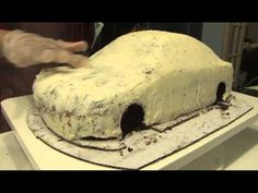 Jaguar S-Type Cake by Nibbles Cakes