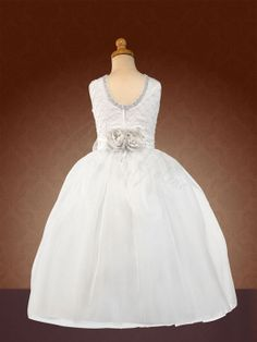 First Holy Communion Dress by Christie Helene Couture - Reese