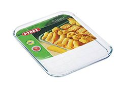 Pyrex Borosilicate Clear Rectangle Baking Tray ( 12 X 10 ) >> You can get more details at : Baking Accessories