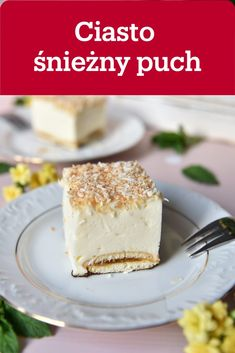 Sweets Cake, Easy Desserts, Vanilla Cake, Cheesecake, Food Porn, Food And Drink, Cooking, Recipes, Polish