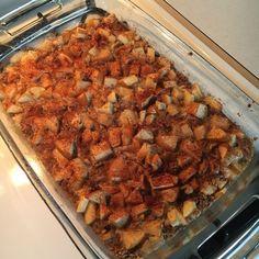Gluten Free Apple Crisp Oatmeal Bake  21 Day Fix Approved Gluten Free Apples Fall Breakfast Food Prep  www.amandaguld.com