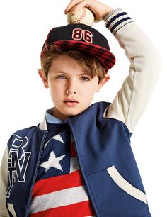 <p>Step up to the plate in style! The seasonal trend for the most stylish boys around is Made in USA, with uniforms taken from all over the university and sports world. The color selection is inspired by the tones found in the American flag: red, white and blue, which also have hints of green, yellow and beige for that added flash.</p>