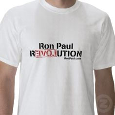 Ron Paul Revolution T-Shirt - White