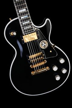 Rock Royalty's custom-made Gibson Les Paul Guitar. My favorite luxury guitar of all time.