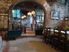 Tofori, Lucca, Fattoria Maionchi. Il ristorante