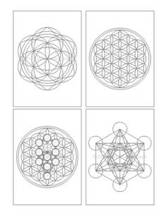 Crystal Grid Template Patterns
