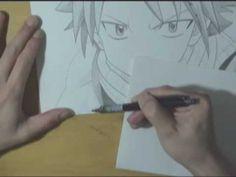#Natsu  #Fairy #Tail #art #drawing #manga #mangas #dibujo #shonen #artistic #free #hand #pencil #sketch